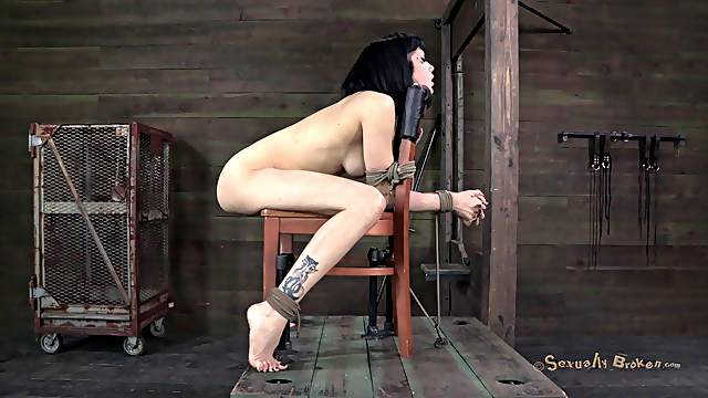 Tattooed woman fucked hard by her black master's dong
