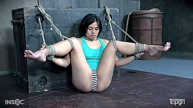 Asian slave Milcah Halili tied and abused by mistress London River