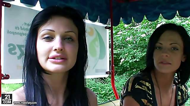 a day out with porn star Aletta ocean