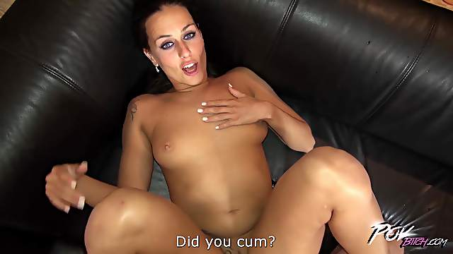 Balls deep fuicking ends with a creampie for wild Mea Melone
