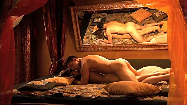 Kama Sutra Expert Sahara Knite Fucked in Erotic Video