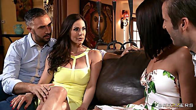 Slutty wife Adriana Chechik shared her hubby with Kendra Lust