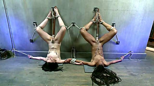 Juliette March and Nikki Darling get tortured by some dude in a cellar