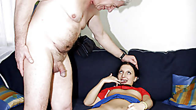 Sexy Teen Maid Massaged And Fucked Hard By Old Man