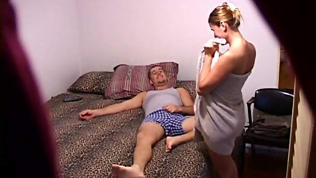 Adorable Blonde Gets Fucked Hard Doggystyle In A Hidden Cam Clip
