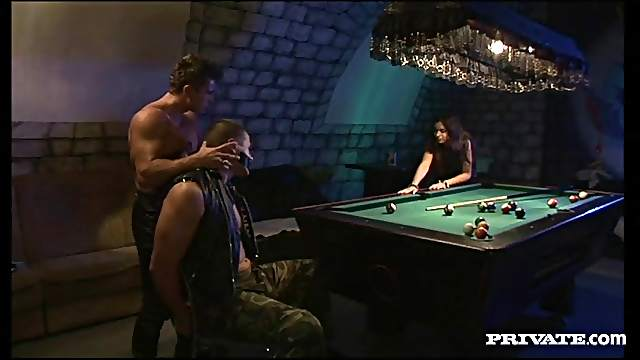 Sweet Lucy Lee Gets DP By Two Tough Fellows In A MMF