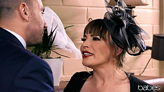 Husbands best friend fucks cheating MILF wife Dana Dearmond