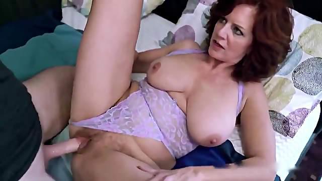 Caught masturbating stepmom and fuck her