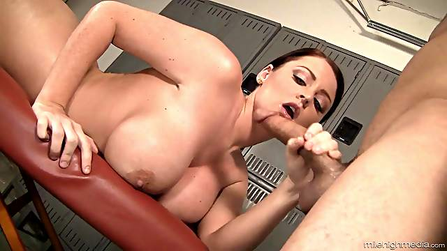 Voluptuous Sophie Dee gets a massage and a good fucking