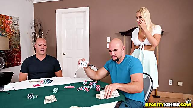 Vanessa Cage is happy that her husband lost a game of poker