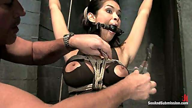 Stunning Daisy Marie gets tortured in hot bondage video