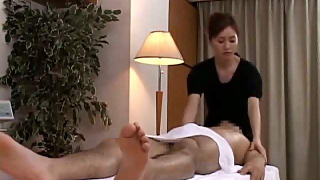 Blowjob after Japanese massage