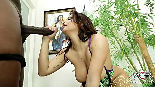 Keisha Grey is hotter than ever taking a BBC fucking