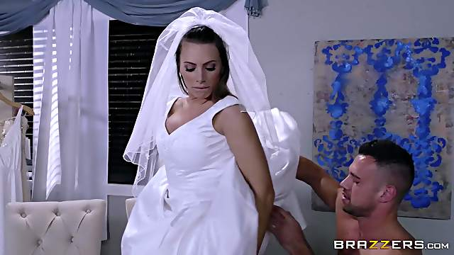 Bride to be tries one more kink before becoming a beloved wife